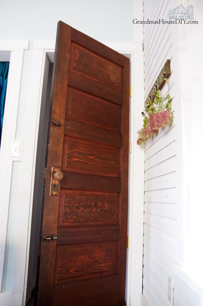 Refinishing An Old Door For My New Guest Bedroom And Library