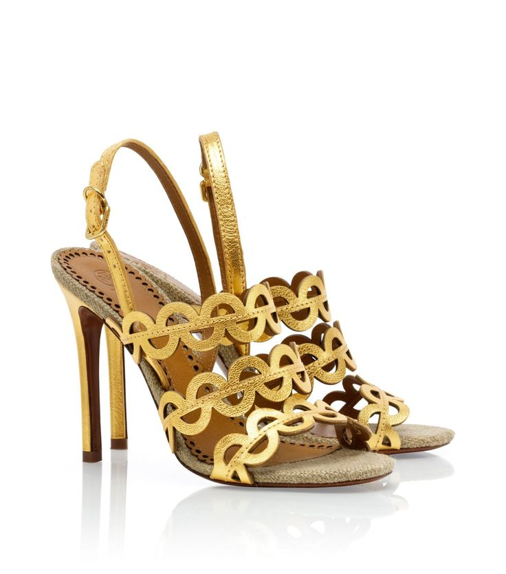 Metallic Ginny Sandal