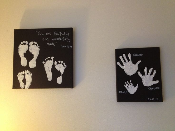 Hand and feet memories