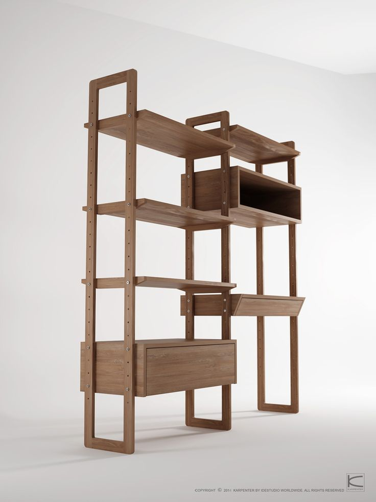 KWSU (Karpenter Wall Shelf Unit) on Behance