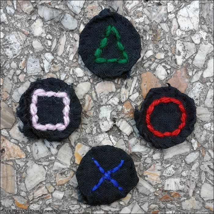 Playstation Buttons Patches