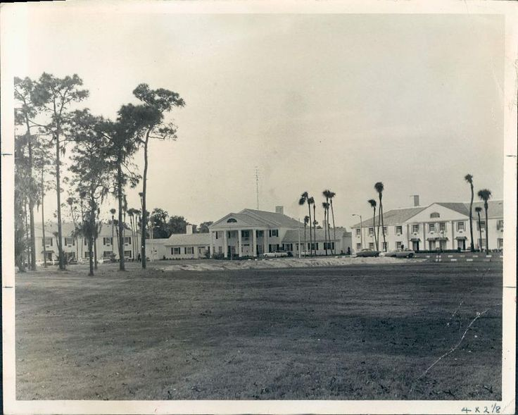 Plantation Inn Crystal River 1965