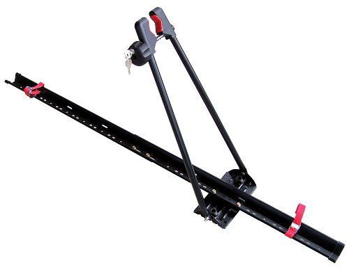 Tie Down Straps For Wheels Included Fits Thule Yakima And OEM Bars Capacity 1 Bike Mount Roof Product Instructions