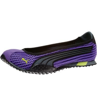 Toe shoes are a little tough to wear on the street, but these ballerinas are street savvy and a twee sexy too. Women's H-Street Ballerina Flats in Turbulence @PUMA