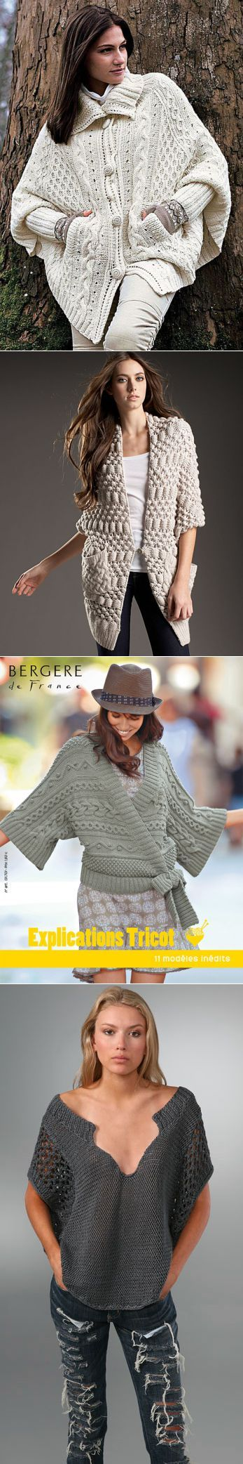 Новые тенденции вязаной моды 2 | Умелые ручки | ВЯЗАНИЕ (СПИЦЫ) | Постила