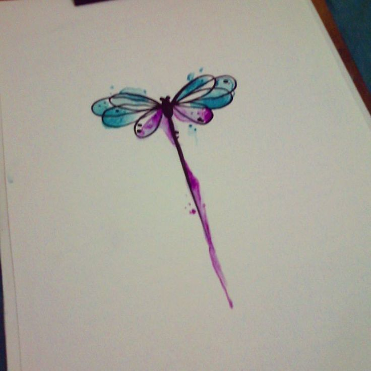 Watercolor Dragonfly Tattoo on Pinterest | Dragonfly quotes Dragonfly ...