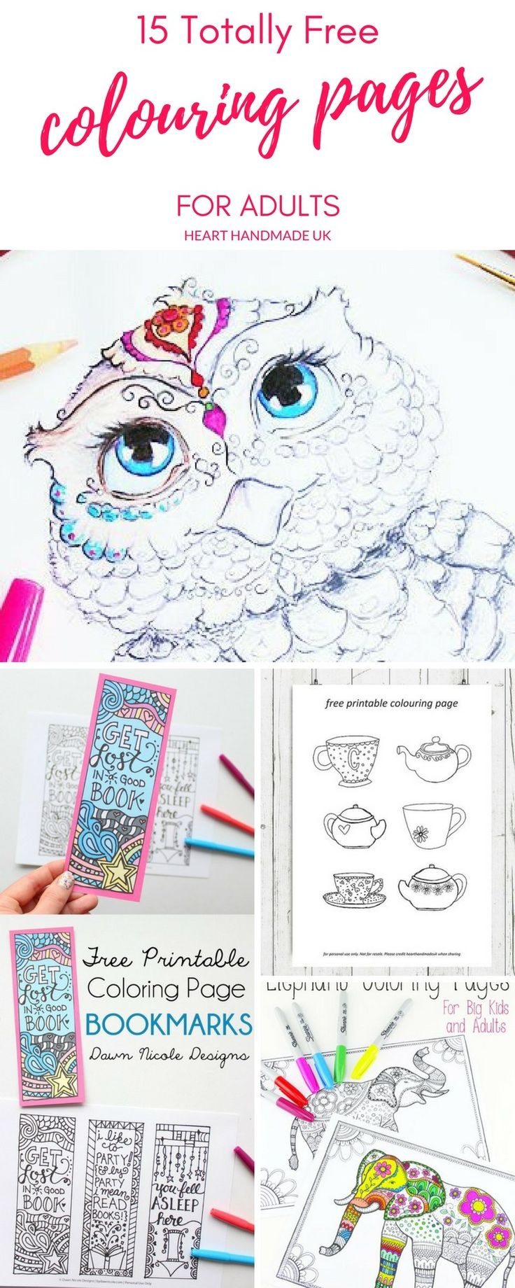 Free coloring pages hamsters - 15 Fantastic Free Colouring Pages For Adults