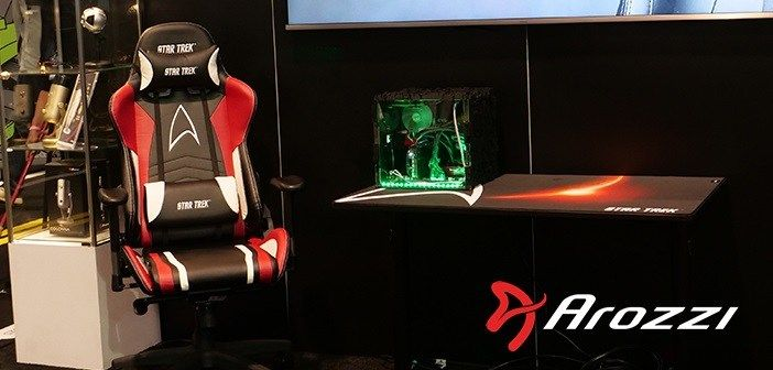 Pleasing Star Trek Edition Gaming Chairs By Arozzi Gaming Chair Short Links Chair Design For Home Short Linksinfo