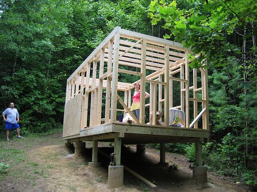 25 best ideas about house foundation on pinterest small for Tiny house on foundation