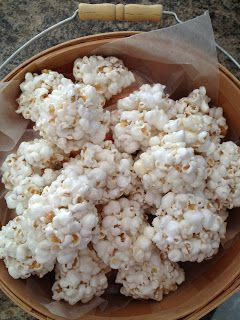 Living the Allergic Life popcorn balls