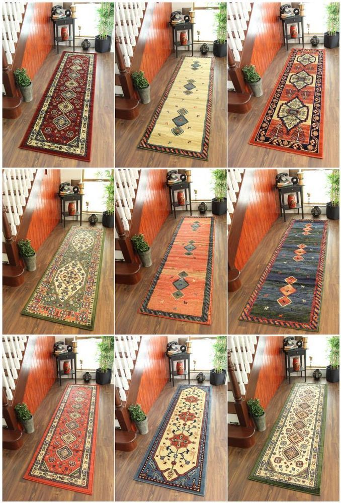 Great Details About Runner Rugs Navaro Long Narrow Wide Hall Tribal Small Large  Cheap Hallway Mat