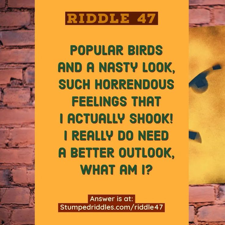 47. A Riddle With Expression in 2020 Riddles, Fun lesson