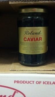 Roland: Black Lumpfish Caviar.  http://affordablegrocery.com