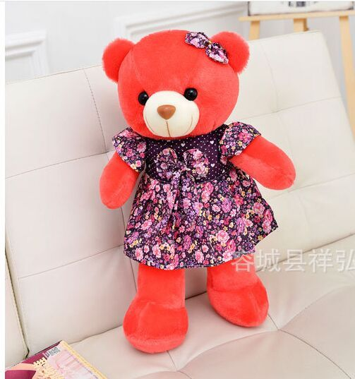==> [Free Shipping] Buy Best about 50cm red teddy bear plush toy skirt dress bear doll Christmas gift b0569 Online with LOWEST Price | 32809327959