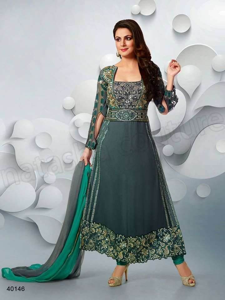 Latest Designer Salwar Kameez Designs 2015 Fashion (1)
