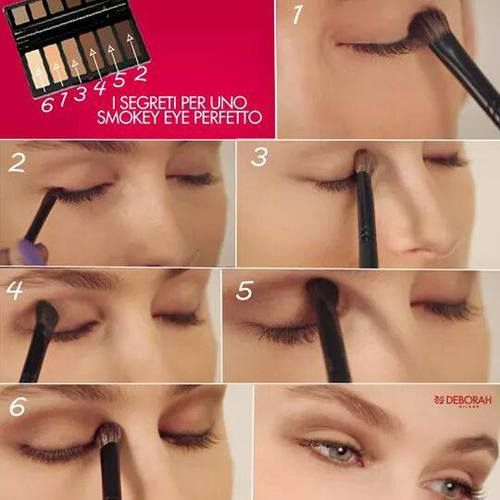 smokey eyes | via Facebook #eyeshadow, tips - #makeup