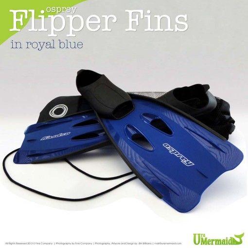 Osprey Fins in Blue from URA Mermaid