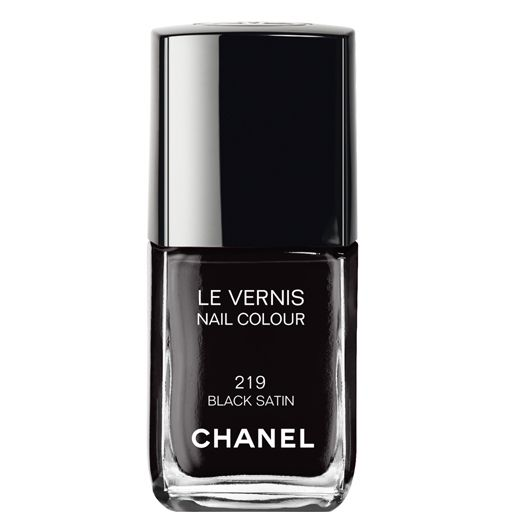 Missed out on Chanel Black Satin the first time? Now's your chance to get it again. #nails