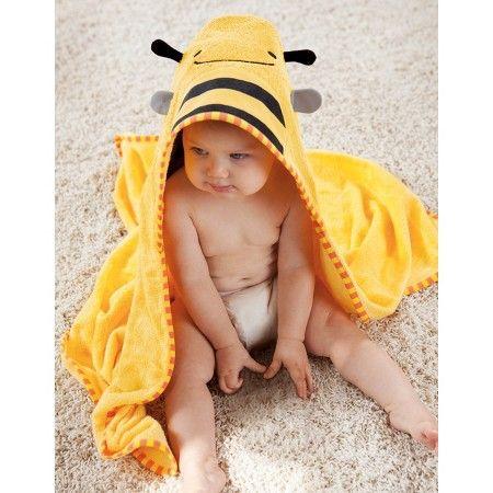 Skip Hop Zoo Toddler Towel and Mitt Set, Bee : Target