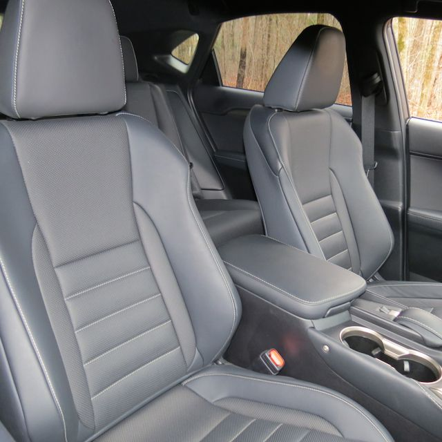 Compact Luxury Crossover: 2015 Lexus NX 200t F Sport