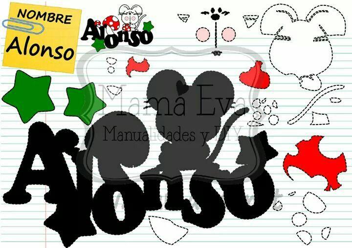 Nombre de ALONSO en goma eva. Haz el nombre de tu hijo o hija en Goma Eva! Tenemos decenas de diseños en www.mamaeva.net Pide el tuyo en www.facebook.com/mamaevanet. Te esperamos! :-) :-)