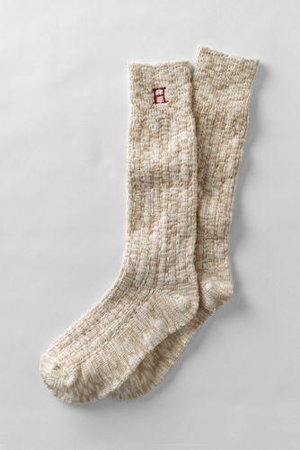 Women's Thermaskin Heat Marl Boot Socks from Lands' End