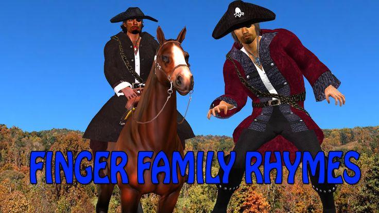 cow boy finger family | finger family song | 3d nursery rhymes for children