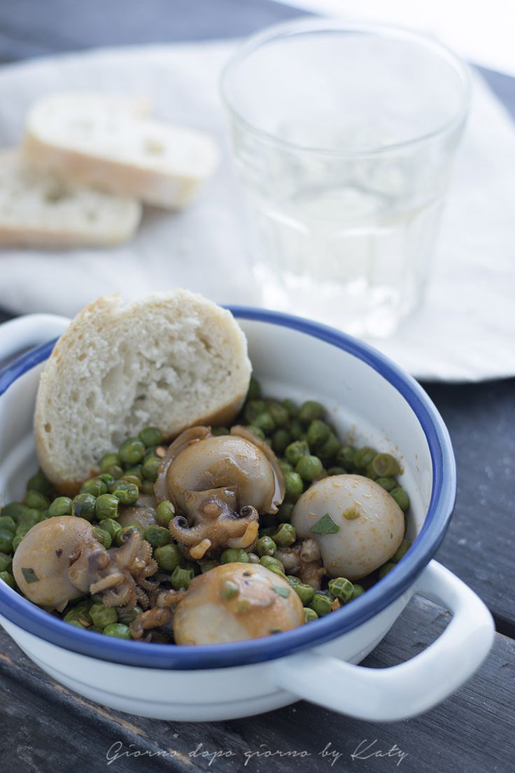 seppie con i piselli, ricetta secondo piatto della tradizione italiana