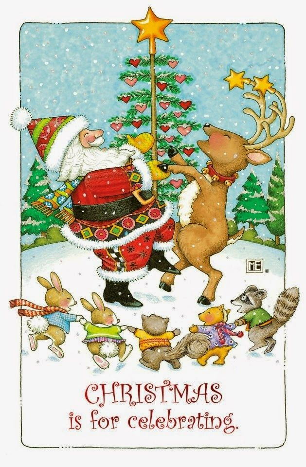 mary engelbreit coloring pages christmas - photo#22