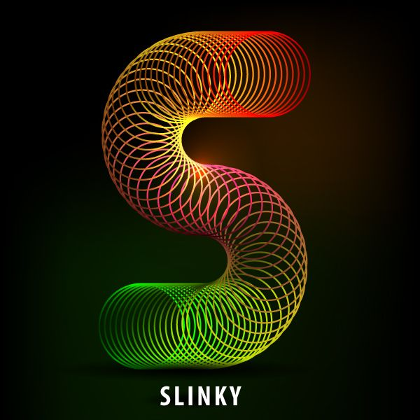 How to Create the Letter S in the Shape of a Slinky Toy - Tuts+ Design & Illustration Article