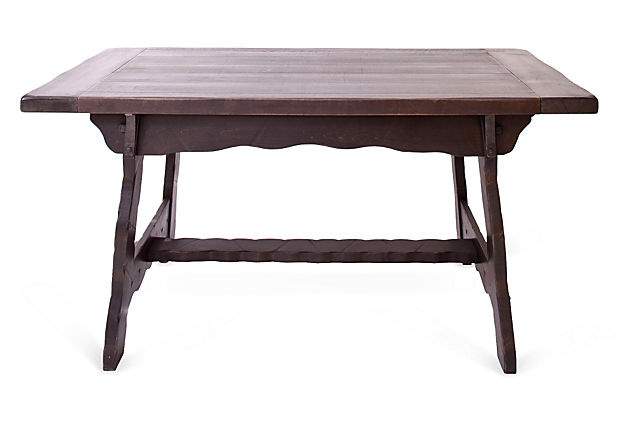 Rustic Dining Table w Iron Hardware : 62138caa04f70141b1e2feb8f5be04e4 from pinterest.com size 620 x 422 jpeg 35kB