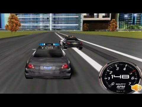 police car race part 1 racing cars games for kids video for