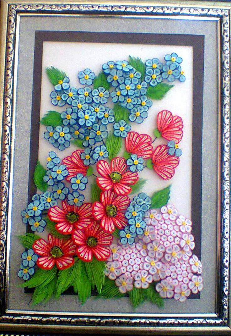 Paper quilling designs for wall frames for Best quilling designs