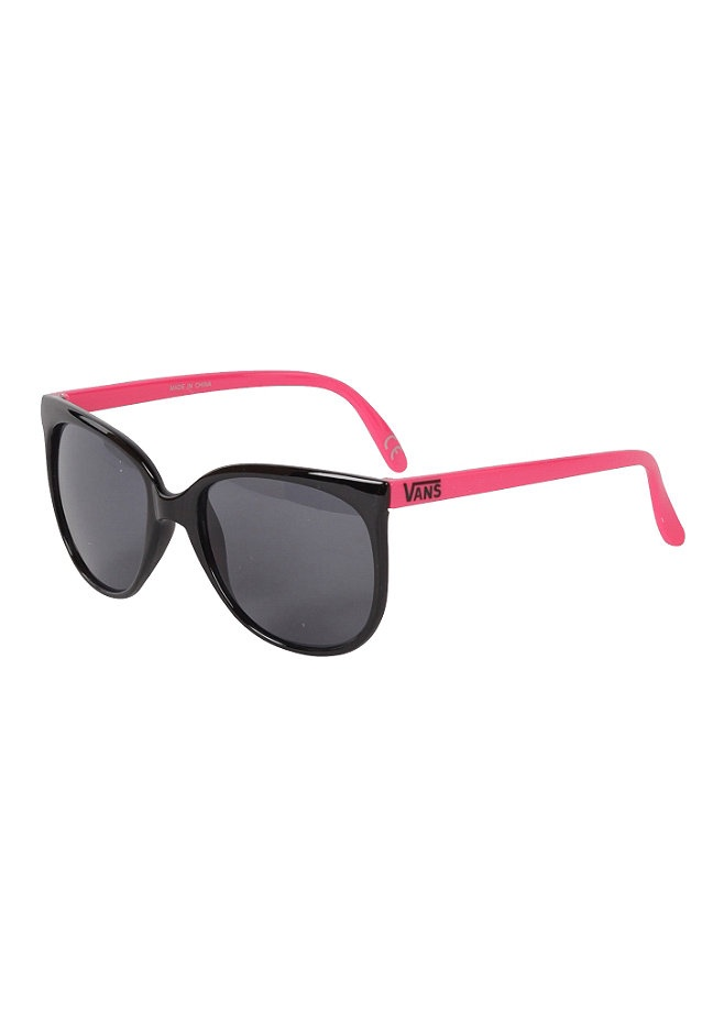 VANS Womens 80s Sunglasses black/neon pink