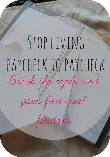 How one family stopped living paycheck to paycheck, pay off their debt and gain financial freedom.