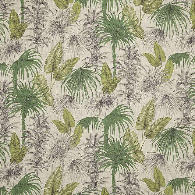 BuyJohn Lewis Liana Furnishing Fabric, Green Online at johnlewis.com
