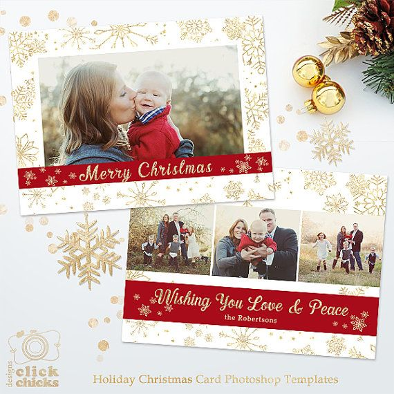 48 best Christmas Cards Templates for Photographers images on - christmas card templates word