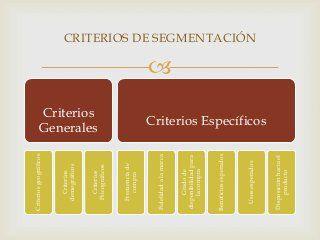 Segmentacion del mercado y posicionamiento estrategico