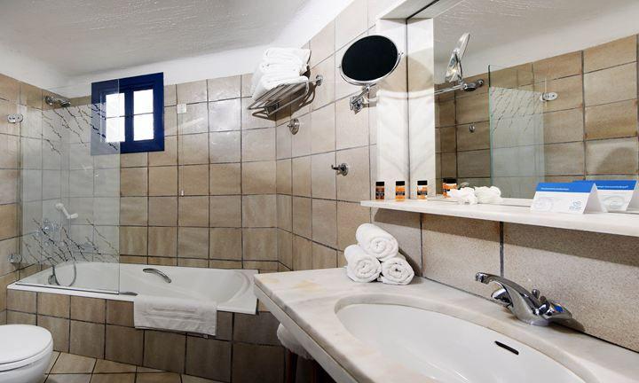 #Accommodation #All_Inclusive Crete: #hersonissos accommodation #greece, hotel #rooms crete, all inclusive rooms #creta, #family #holidays, #bathroom