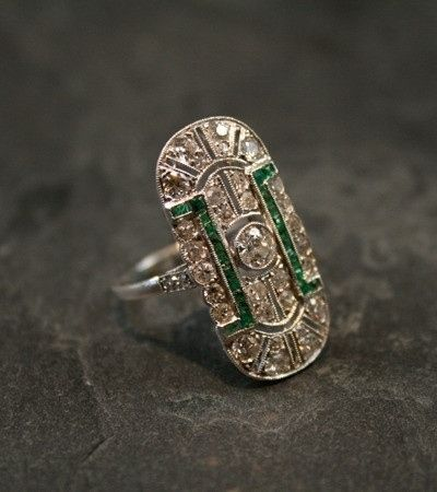 And here. | 40 Vintage Wedding Ring Details That Are Utterly To Die For #12, 40, 6, and 1 are amazing!