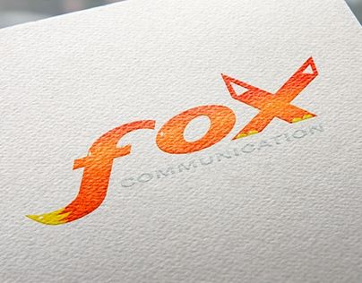 """Check out new work on my @Behance portfolio: """"Fox communication"""" http://be.net/gallery/32078037/Fox-communication"""