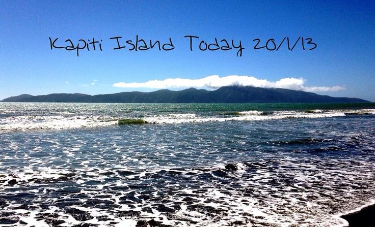 Not So Super Scottish Mummy: Kapiti Island Today 20/1/13