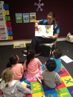 Reading and comprehension are highly valued activities in our School Readiness Program