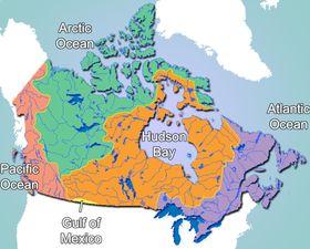 Alberta Grade 5 Social Studies 5.1.2 Hydrography (drainage basins) of Canada
