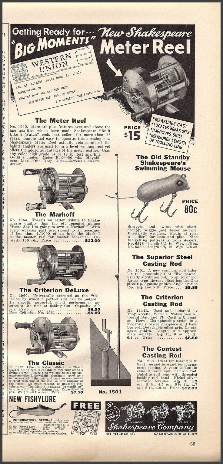 211 Best Vintage Fishing Advertisement Amp Art Images On Pinterest