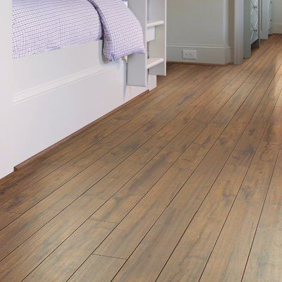 "Shaw Floors Lincolnshire 5"" x 48"" x 12mm Laminate in Amber Hill"