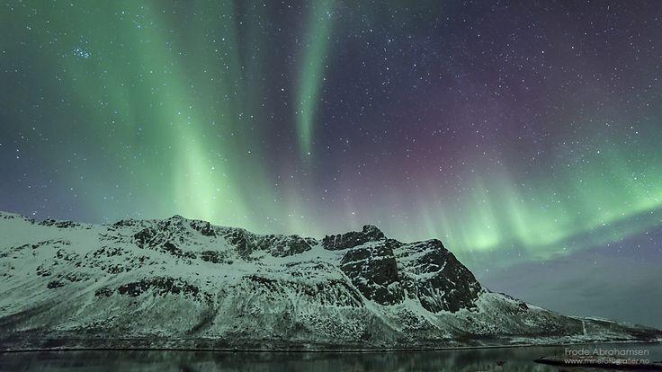 Nordlys i Grøtfjorden