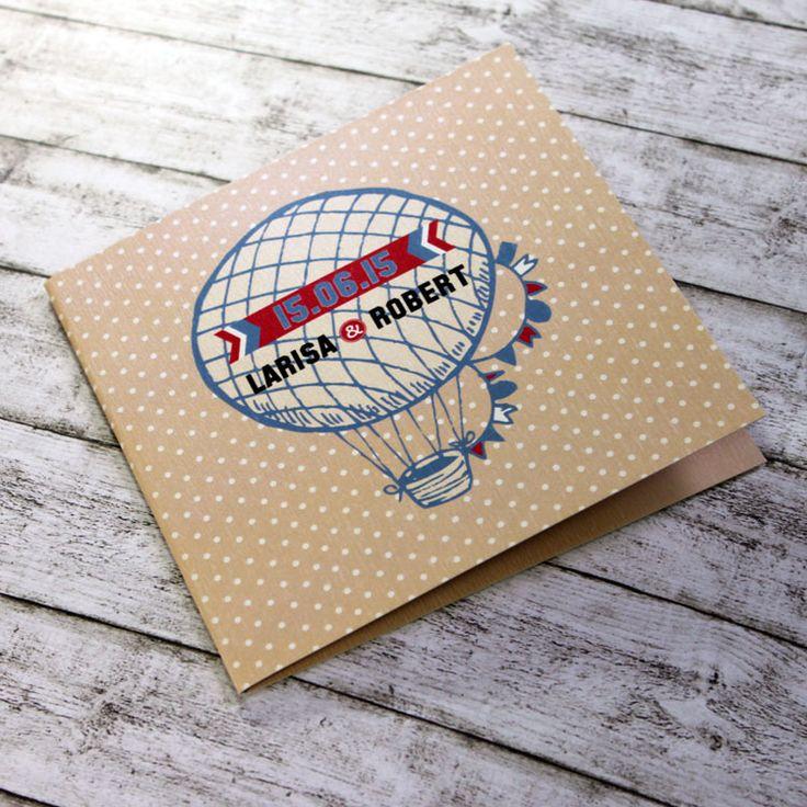 Invitaţie de nuntă Jurney http://designbyclarice.ro/
