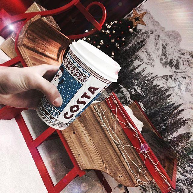 #costacoffee Má nejlepší Vánoční kelímky !⛄️#costacoffeeworld#costacoffecaramellatte#christmasiscoming