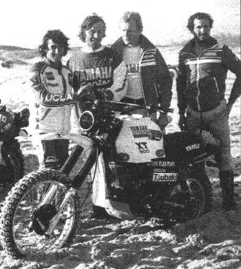1979 Paris Dakar XT500. Cyril Neveu first victory